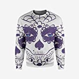 iPrint Mens Valentines Day Pullover Sweater