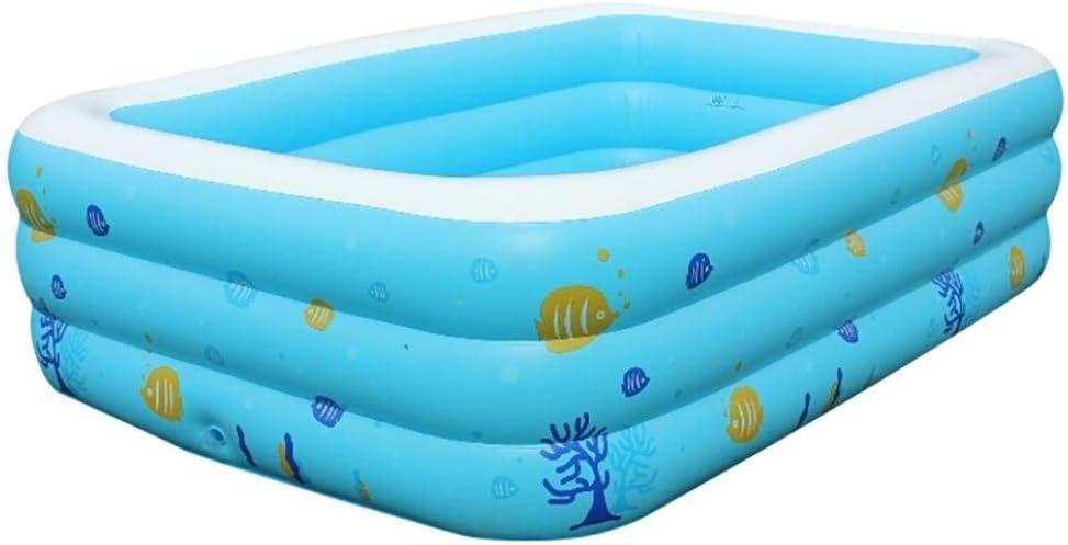 AYWJ Water Play Center, Easy Set Pool Swim Center Deluxe Family Piscina Inflable Grande para diversión al Aire Libre en Verano: Amazon.es: Deportes y aire libre