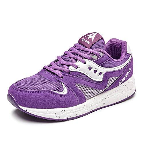 Verano ocio Coreano zapatos mujeres/tendencia de cordones zapatillas/Zapato del plano/Zapatos de malla B