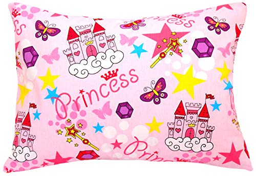 Kids Toddler Pillowcase 13×18 by Comfy Turtles, 100 Natural Cotton, Soft Pillow Cover for Wonderful Sleep and Dreams…