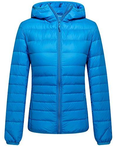 ZSHOW Women's Outwear Hooded Winter Coat Lightweight Packable Winter Coats Jackets