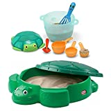 Little Tikes Turtle Sandbox (Turtle Sandbox with Seaside Sidekicks Sand Baking Set)