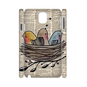Birds 3D-Printed ZLB604366 Customized 3D Cover Case for Samsung galaxy note 3 N9000
