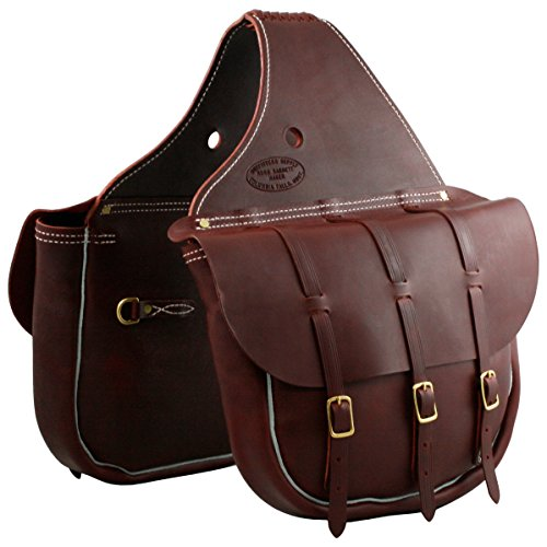 - Outfitters Supply 3-Buckle Cavalry Saddle Bags