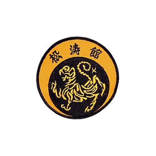 Shotokan Tiger Patch - 4'' Dia. - 10 Pack