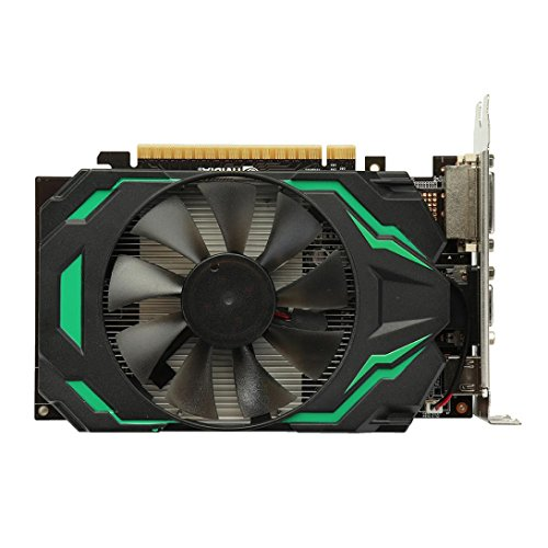 NXDA GT740 2GB GDDR5 128Bit VGA DVI HDMI Graphics Card With Fan For NVIDIA GeForce (Black) by NXDA (Image #1)