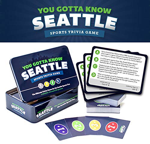 You Gotta Know Seattle - Sports Trivia Game