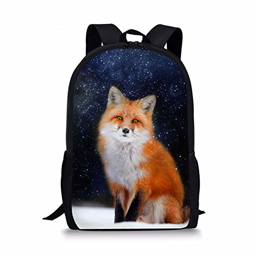 Cartable Moyen Fox Noir 1 Chaqlin 3 Fox 7WgOxnnF1