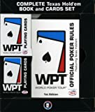 : World Poker Tour Book and 2 Deck Set