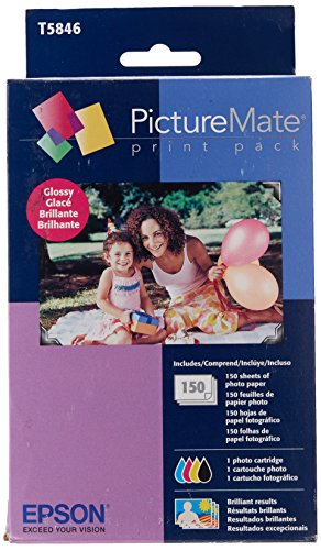 Epson T5846 PictureMate Print Pack - Glossy Pm 200 Photo Printer