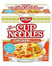 Nissin Cup Noodles Chicken, 64 Gram, Pack of 12