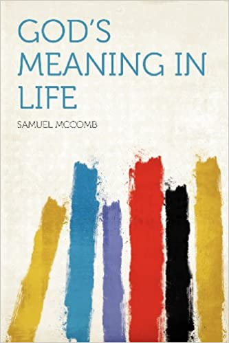 Book God's Meaning in Life