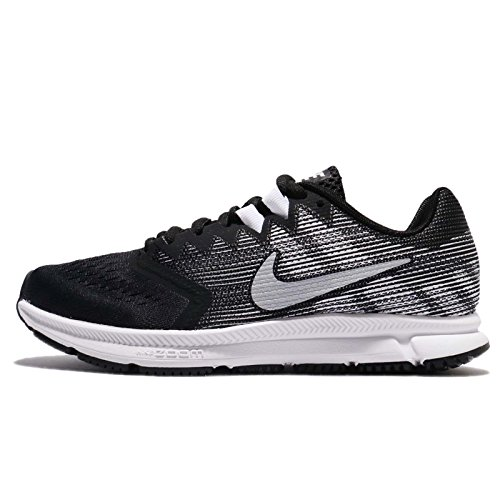 Nike Women's Zoom Span 2 Black/Metallic/Silver Running Shoe 9 Women US (Nike Air Zoom Total 90 Iii For Sale)