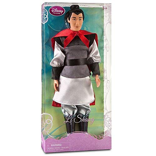 Disney Princess Exclusive Mulan Li Shang Doll -- 12'' H -