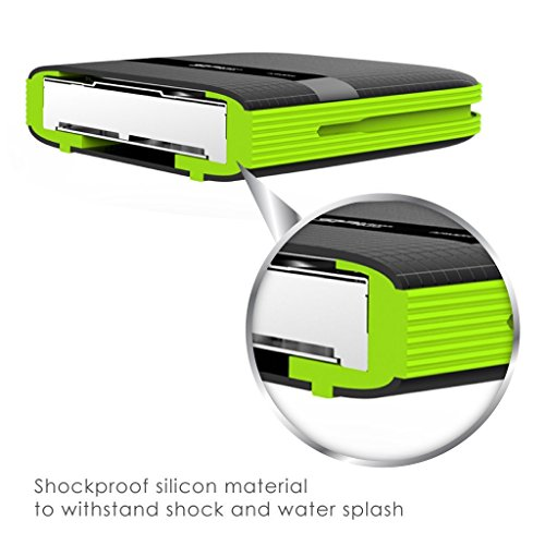 Silicon Power 4TB Rugged Portable External Hard Drive Armor A60, Shockproof USB 3.1 Gen 1 for PC, Mac, Xbox and PS4, Black by SP Silicon Power (Image #4)
