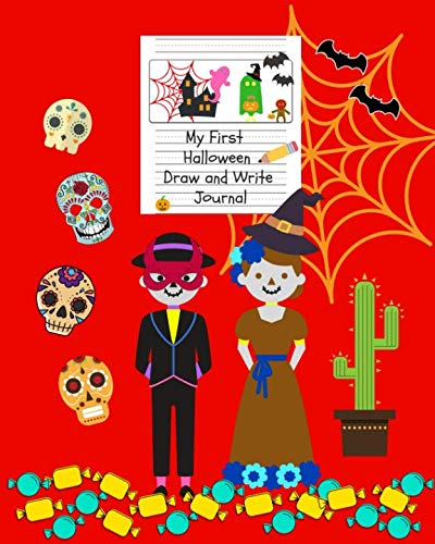 My First Halloween Draw and Write Journal: Primary Composition Notebook – 29 HALLOWEEN designs easy to color and space to write a story - for Kids Ages 4-8]()