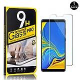 Galaxy A9 2018 Screen Protector, Bear Village® Tempered Glass Screen Protector, HD Screen Protector Film for Samsung Galaxy A9 2018-1 PACK