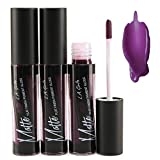(All Colors) LA Girl Matte Pigment Gloss (3 Pack) (Black Currant)