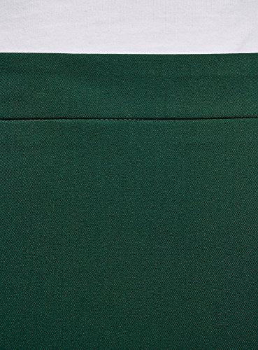 Coupe Vert 6900n Basique Jupe oodji Droite Collection Femme RwxqBgIT8