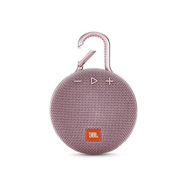 JBL Clip 3 - enceinte Bluetooth Portable avec Mousqueton - Étanchéité Ipx7 - Autonomie 10hrs - Qualité Audio JBL - Rose 1
