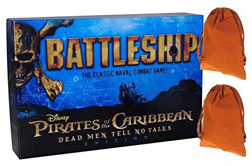 Pirates of the Caribbean Battleship Board Game _ Dead Men Te