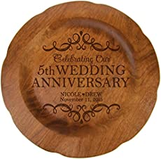 Modern Traditional 35th Wedding Anniversary Gifts for Women Men