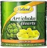 Roland Foods Artichoke Hearts, 50-60 Count, 88 Ounce