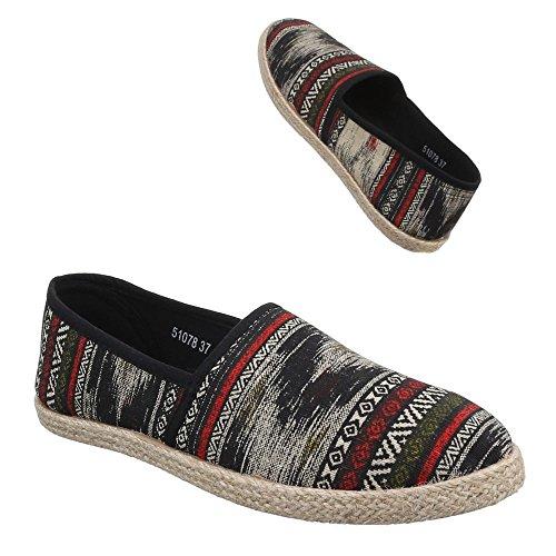 Ital-Design - Zapatillas de casa Mujer negro