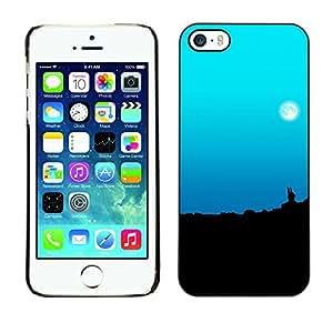 Stuss Case / Funda Carcasa protectora - The Moons Pale Skies - iPhone 5 / 5S
