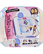 inkFLUENCER, We Wear Cute Style N Create Light Desk, Activity Kit to Create Customized Outfits