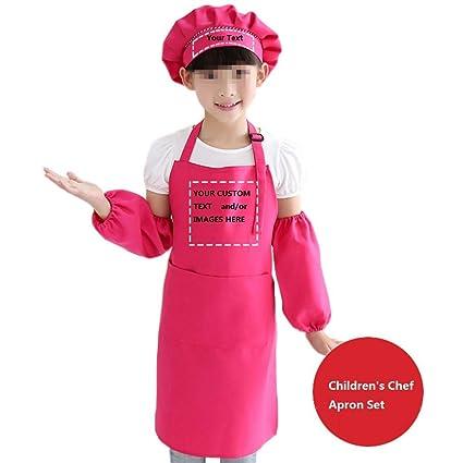 Amazoncom Yoweshop Personalized Name Text Image On Childrens Chef