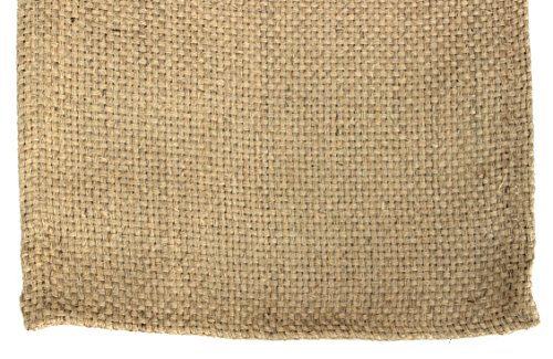36' Table Runner (Country House Collection Primitive Burlap Basketweave Table Runner - 36'' x 13'')