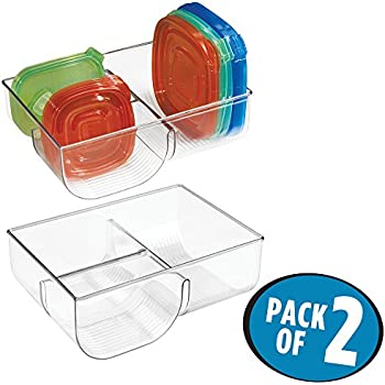 Amazon Com Large Adjustable Food Storage Organizer In