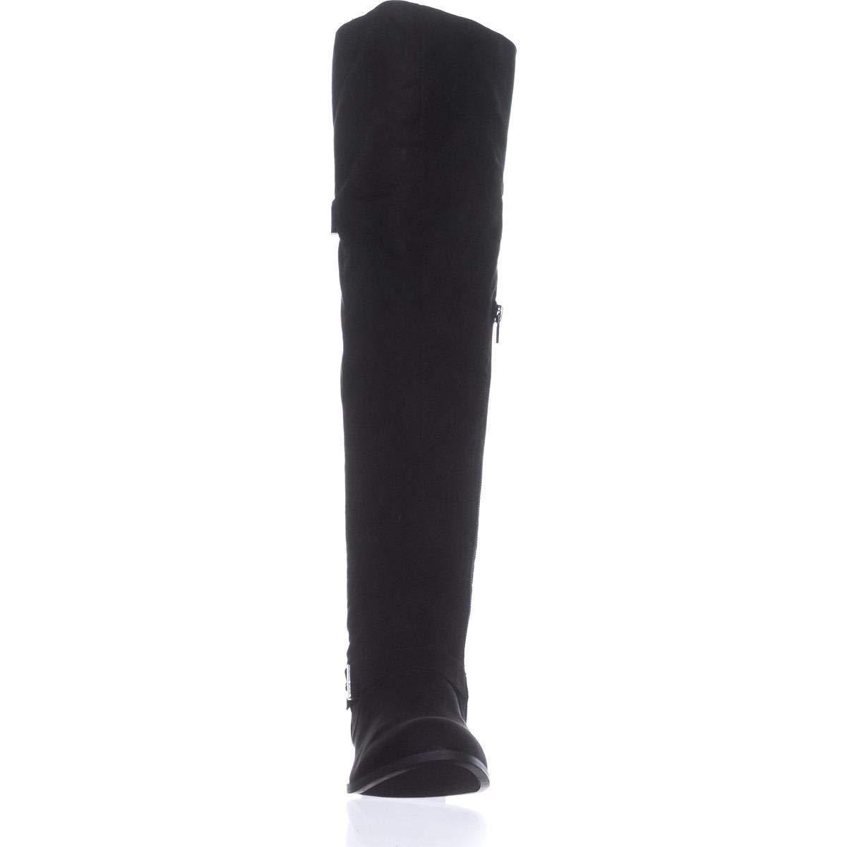 Renewed Bar Iii Womens Daphne Round Toe Over Knee Fashion Boots