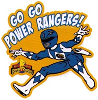 Mighty Morphin Power Rangers Go Go Power Rangers Sticker. Amazon Com Mighty  Morphin Power Rangers Part 63