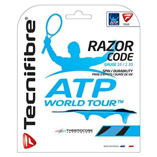 Tecnifibre ATP Razor Code Tennis String Set-Blue-16 (Code 16 String)