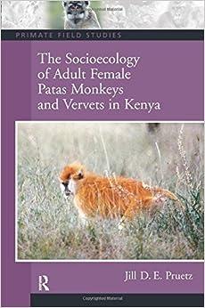 The Socioecology of Adult Female Patas Monkeys and Vervets in Kenya (Primate Field Studies)