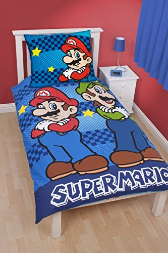 nintendo bettw sche my blog. Black Bedroom Furniture Sets. Home Design Ideas