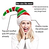 ADJOY 3D Christmas Ugly Sweater Party Elf Hat