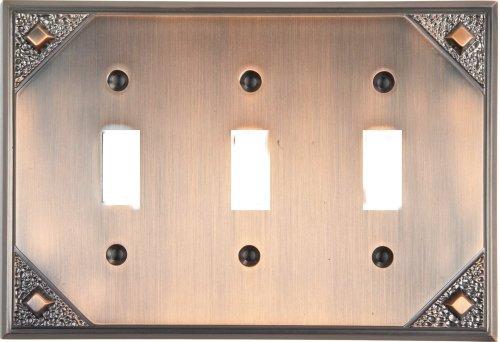 Atlas Copper Switchplate - 3