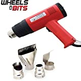 2000W HOT AIR GUN WITH 4 NOZZLES PAINT STRIPPER STRIPPING HEAT SHRINK POWER TOOL