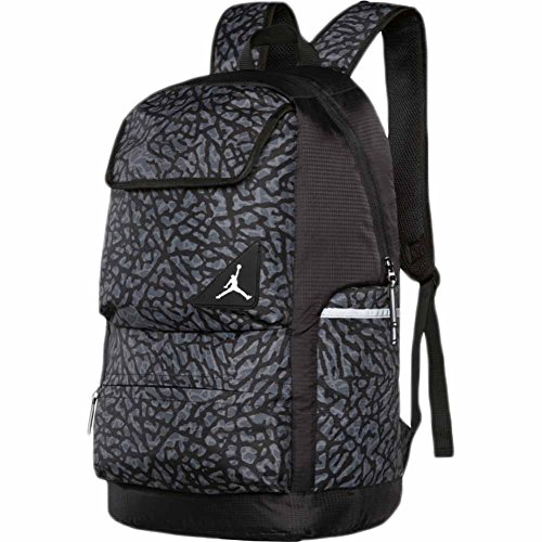 Jordan Youth Boys Playoff Backpack Black/Grey by Jordan