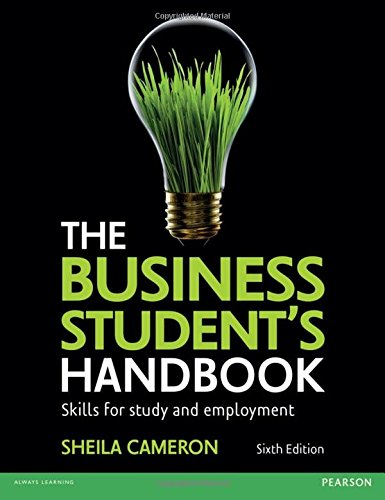 Business Student's Handbook: Skills for Study & Employment, 6th ed.
