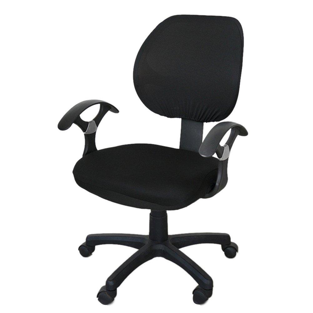 Twilight Coprisedia Stretch Cover a sedia di ufficio per decorazione di scrivania sedia, blu, Avec housse d'accoudoir Avec housse d' accoudoir