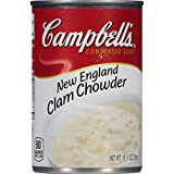 Campbell's Condensed Soup, New England Clam Chowder, 10.5 Ounce (Pack of 12)