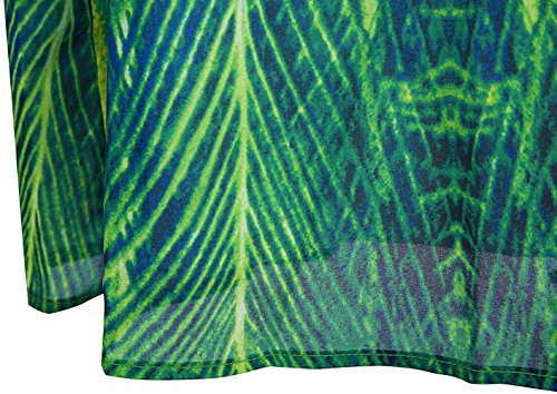 Malerei Damen Abendkleid Angel Rhinestone Chiffon fashions Pfau New Grun Liebsten O4n4U8w