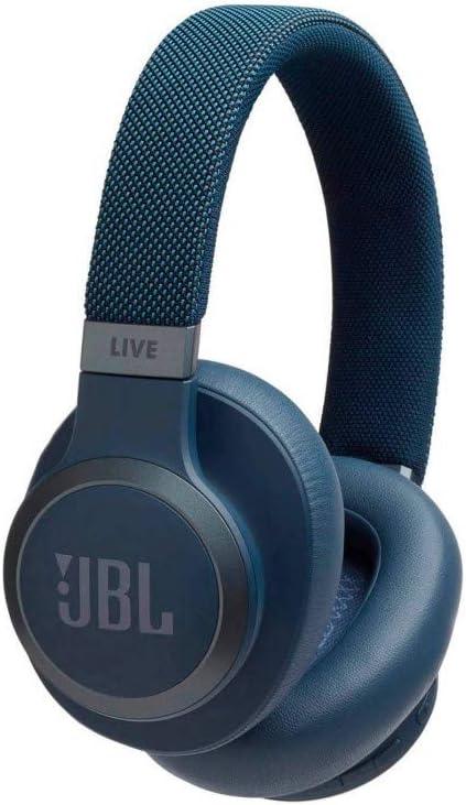 JBL LIVE 650BTNC - Auriculares Inalámbricos con Bluetooth y cancelación de ruido, sonido de calidad JBL con asistente de voz integrado, hasta 30h de música, azul: Amazon.es: Electrónica