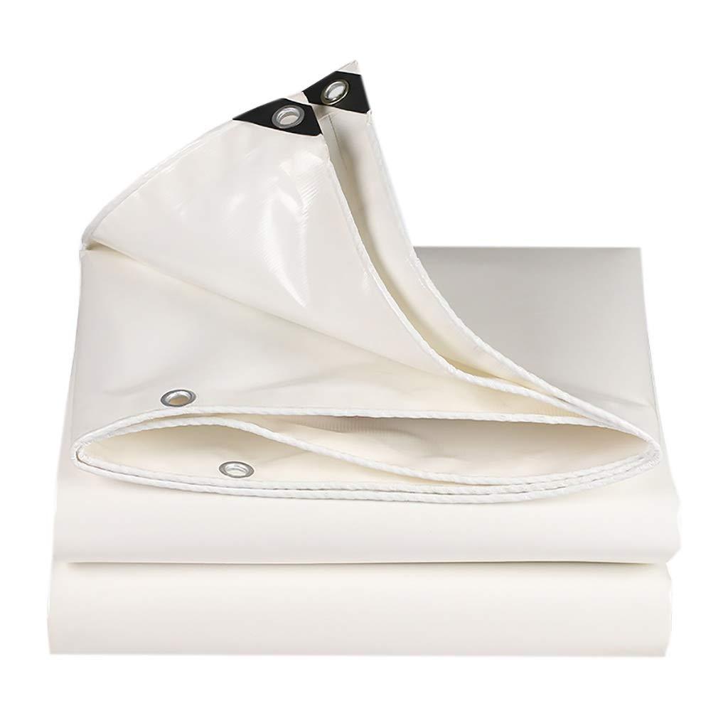 Hfspb Im Freien weißer Poncho Sonnencreme Plane Rain Canvas 500 G Quadratmeter, Dicke  0,45 mm