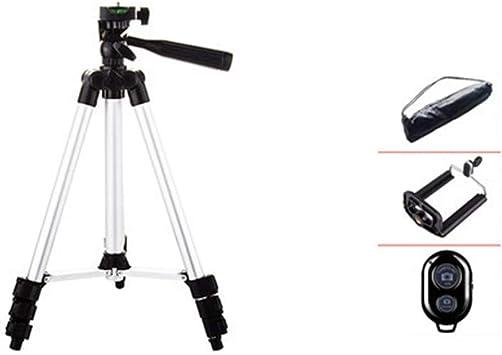 QINAIDI Trípode de cámara para iPhone/Samsung/Huawei Celular ...
