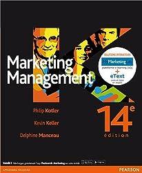 Marketing Management: Pack Premium FR/Ang : Livre en français + eText & MyLab en anglais - Licence étudiant 12 mois